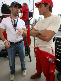 Dario Franchitti and Anthony Lazzaro