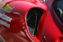 Detail of the Risi Competizione Ferrari 430 GT Berlinetta