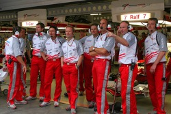 Toyota F1 team members
