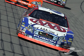 Mark Martin leads Tony Stewart and Denny Hamlin