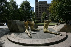 Visit of Atlanta: intriguing sculptures