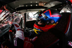 Juan Pablo Montoya sits in the Texaco-Havoline Dodge