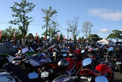 Japanese motorcycle park