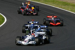 Robert Kubica and Nico Rosberg