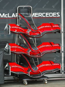 McLaren Mercedes MP4-21 front wings