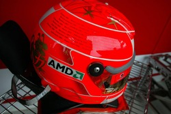 Michael Schumacher final race helmet