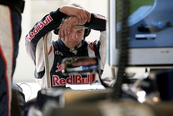 Red Bull Racing team member