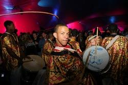 A Samba band