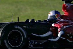 John Hopkins in an STR1