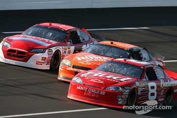 Dale Earnhardt Jr., Tony Stewart and Kasey Kahne