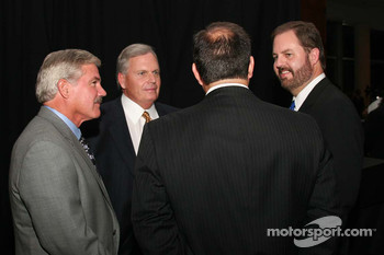 Terry Labonte, Rick Hendrick and Eddie Gossage