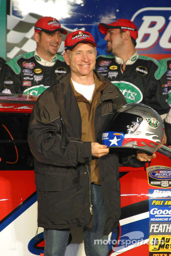 Busch pole winner Mark Martin