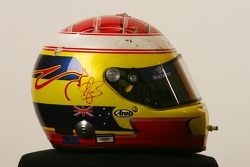 Helmet of Ryan Briscoe