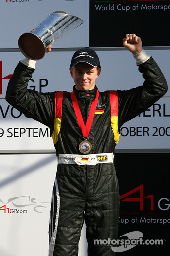 Race 2 winner Nico Hulkenberg
