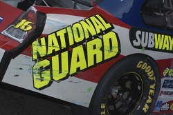 Marks on the National Guard Ford