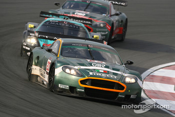#23 Aston Martin Racing BMS Aston Martin DBR9: Matteo Malucelli, Fabio Babini