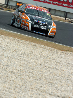 Rick Kelly lost his lead to Craig Lowndes