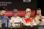Travis Pastrana, Tom Kristensen, Mattias Ekstrm and James Thompson