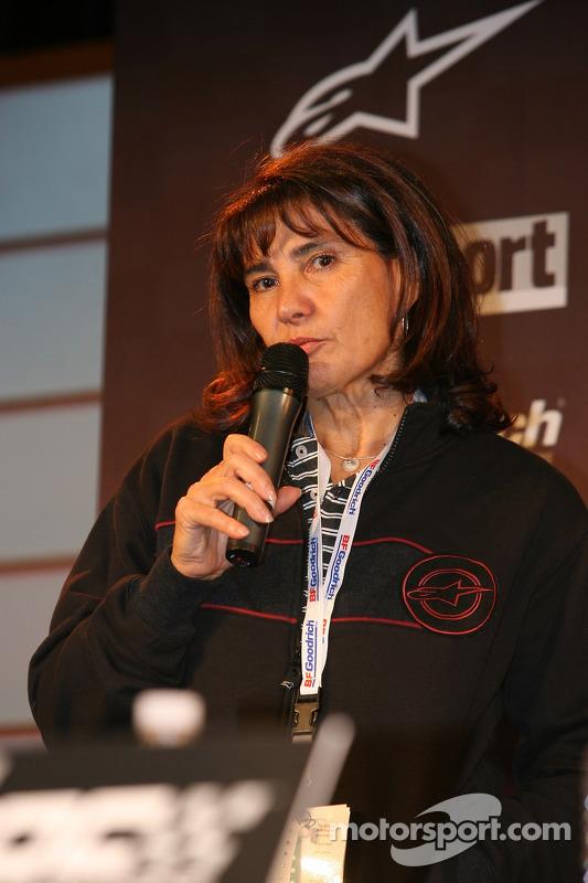 ROC organiser Michèle Mouton