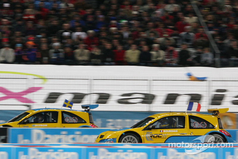 Final 1: Mattias Ekström and Sébastien Bourdais