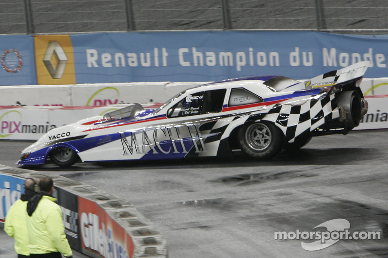 Dragster show: Vincent Perrot