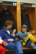 Marcus Gronholm and Heikki Kovalainen