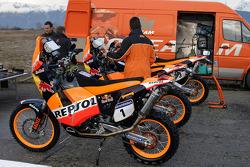 Team Rally Repsol KTM: Team Rally Repsol KTM bikes
