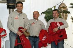 Orlen Team: Krzysztof Holowczyc, Jacek Czachor and Jean-Marc Fortin