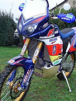 FRET Motorsport: the Yamaha WR450F Offroad Rally of David Frétigné