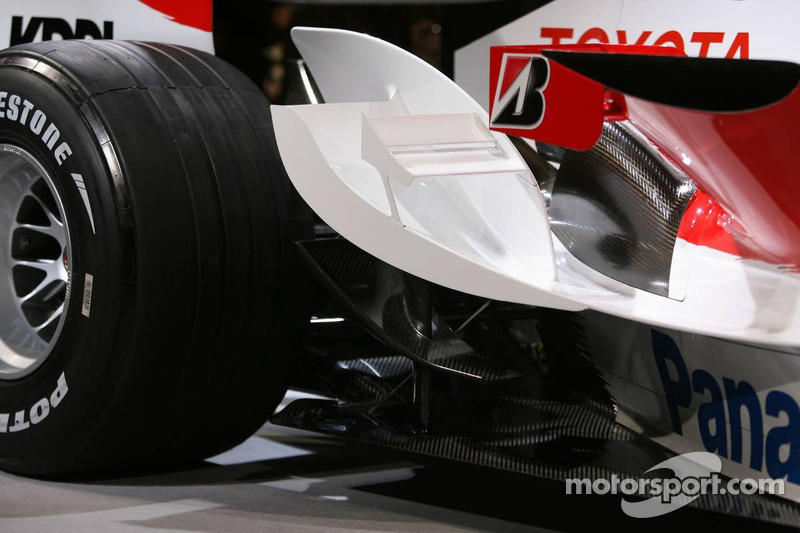 Detail of the Toyota TF107