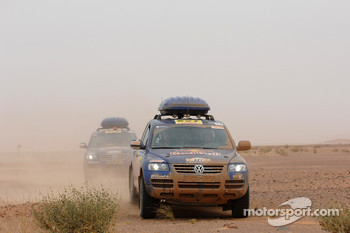Volkswagen Service-Touareg vehicles
