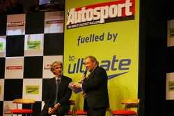 Damon Hill, Ex-F1 World Champion, BRDC President, is interviewed