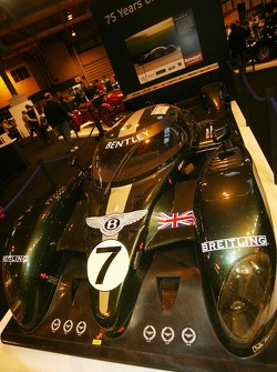 75 Years of Le Mans display: Bentley Speed 8