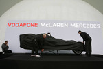 The McLaren Mercedes MP4-22 is unveiled