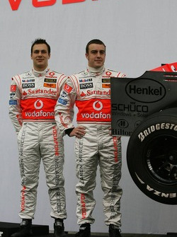 Gary Paffett and Fernando Alonso