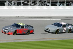 Jeff Gordon and Kurt Busch