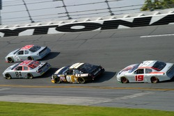 Mike Wallace, A.J. Allmendinger, Mark Martin and Elliott Sadler