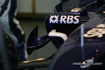 Detail of the Williams F1 Team FW28-B Toyota