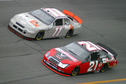 Ken Schrader and Denny Hamlin