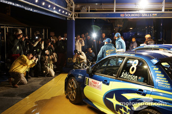 Subaru World Rally Team presentation