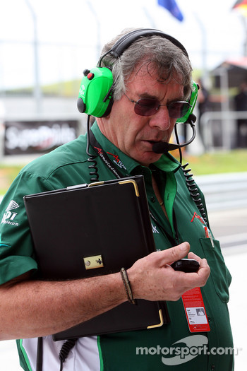 Gary Anderson, Race engineer of A1Team Ireland