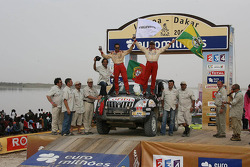 Car category podium: Paulo Marques and Rui Benedi