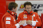 Rob Smedly, race engineer to Felipe Massa and Nicholas Tombazis, Ferrari chief designer