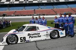 #59 Brumos Porsche Riley: Hurley Haywood, JC France, Joao Barbosa, Roberto Moreno, David Donohue