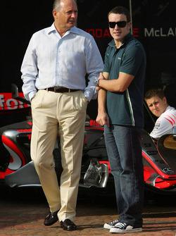 F1: Ron Dennis and Fernando Alonso