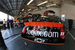 Fedex Chevy garage area
