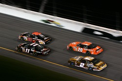 Denny Hamlin, Boris Said, Kurt Busch and Tony Stewart