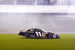 Denny Hamlin after a last lap incident