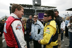 Bill Elliott and Jeff Green