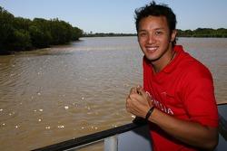 Moreno Soeprapto on safari